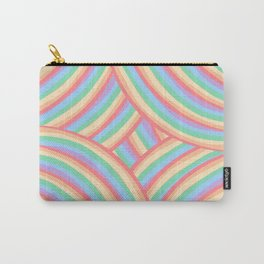 Rainbow Stripes 6 Carry-All Pouch