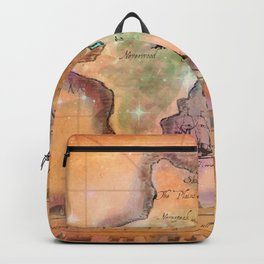Never Land Map Backpack