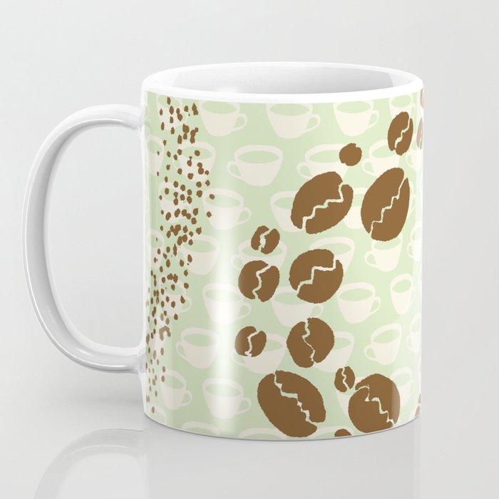 c11b093a2c7 Coffee Bean Swirl Coffee Mug