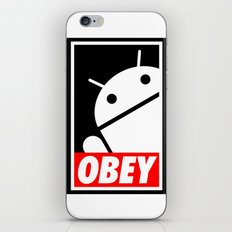 Obey the Android A iPhone & iPod Skin