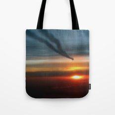 Contrails Tote Bag