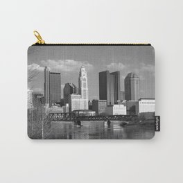Columbus Ohio 3 - B&W Carry-All Pouch