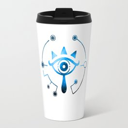 Zelda Sheikah Eye Galaxy Breath Of The Wild Travel Mug