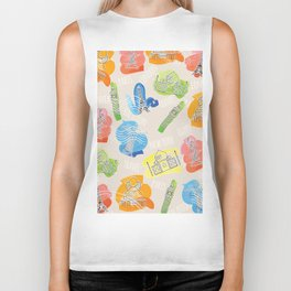 Travel Locations and iconic buildings Biker Tank