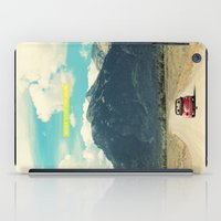 never stop exploring iPad Cases featuring NEVER STOP EXPLORING III by Leslee Mitchell