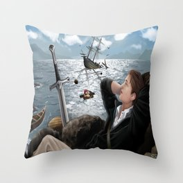 Relaxation Throw Pillow