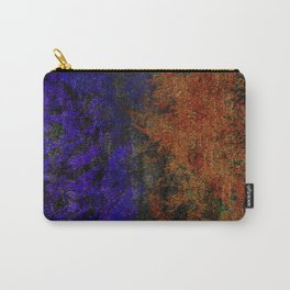 Colored Rusty Abstract Grunge Texture Print Carry-All Pouch