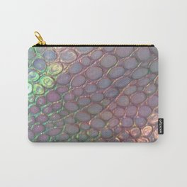 Light Iridescent Snake Carry-All Pouch