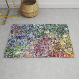 Diamonds, Jewels, (Gems & The Hologram) Rug