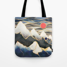 Ice Mountains Tote Bag