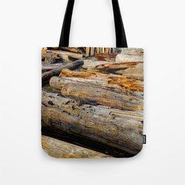 Driven Driftwood Tote Bag