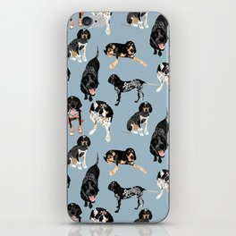 Bluetick Coonhounds iPhone Skin