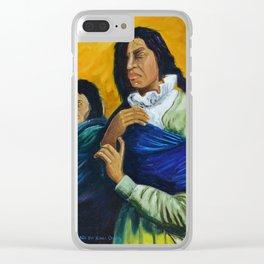 The Daughters of the Earth that Never Forgets Las Hijas de la Tierra que Nunca Olvida Clear iPhone Case