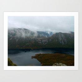 Dove Lake at Cradle Mountain Art Print