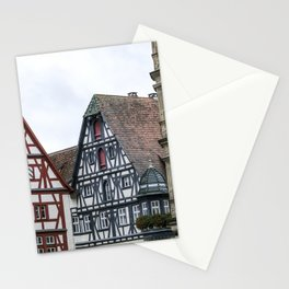 German fairy tale town Stationery Cards