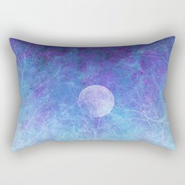 Violet Galaxy: Lunar Eclipse Rectangular Pillow