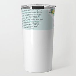 Wisconsin Wildflowers Travel Mug