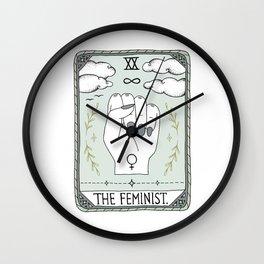 The Feminist Wall Clock