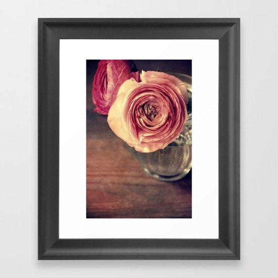 fiore Framed Art Print