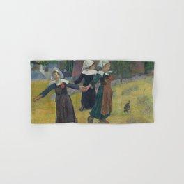 Paul Gauguin - Breton Girls Dancing, Pont-Aven Hand & Bath Towel