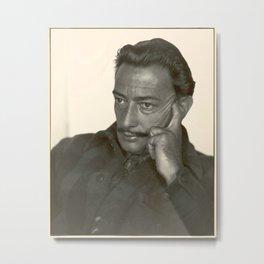 Salvador Dali old photo Metal Print
