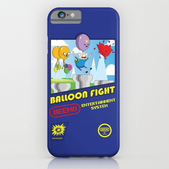 Adventure Time Balloon Fight iPhone & iPod Case