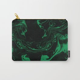 Adrift - Abstract Suminagashi Marble Series - 06 Carry-All Pouch