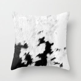 Spotted Cowhide Throw Pillow