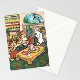 Tea with Jaguar Stationery Cards