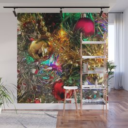 The Colors Of Christmas Wall Mural