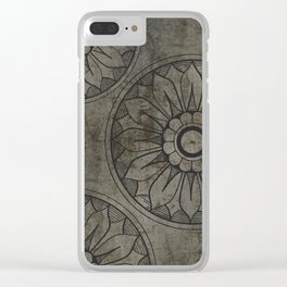 Architectural Motif 1 Clear iPhone Case