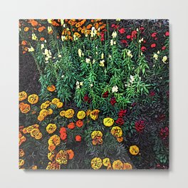 A Moment of Flowers in Estes Park Metal Print