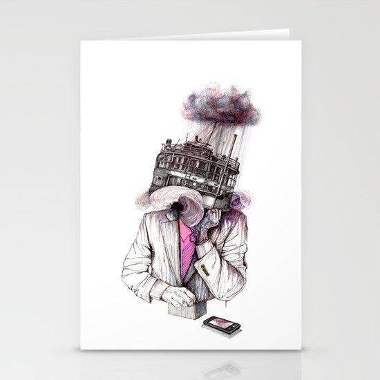 s.o.s Stationery Cards