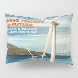 US Department of Energy LPO Poster - Wind Energy (2016) Pillow Sham