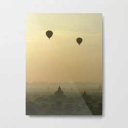 Above the Temples Metal Print