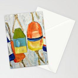 Lobster Buoys Stationery Cards