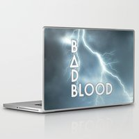 bastille Laptop & iPad Skins featuring Bastille - Bad Blood #2 by Thafrayer