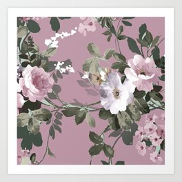 The perfect flowers for me 12 Art Print