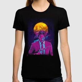 John Wick retro art T-shirt