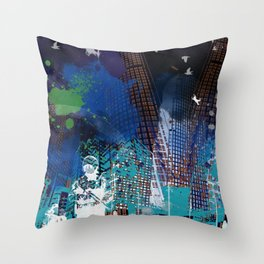 A tale of two cities 2 Throw Pillow