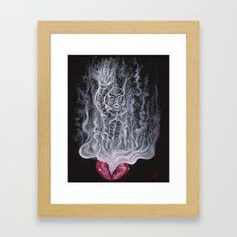 Fumes Framed Art Print
