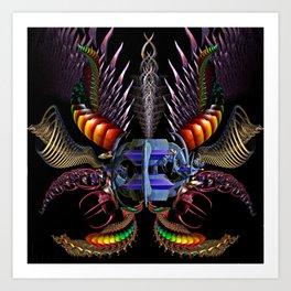 The Borg Beast Art Print