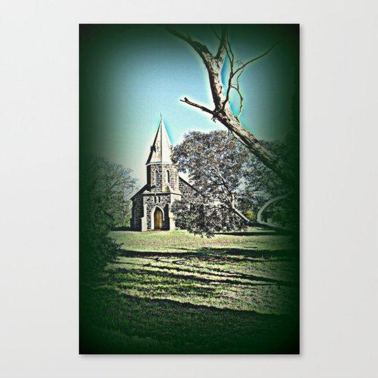 Country Church Canvas Print