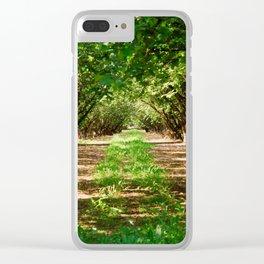Walnut Grove Clear iPhone Case