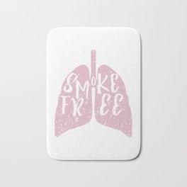 Smoke Free Bath Mat