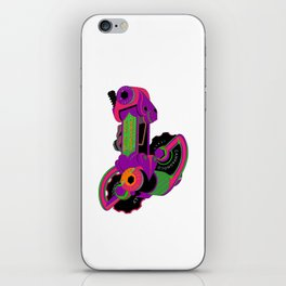 The World's Most Famous 70's Derailleur, One Cool Cat iPhone Skin