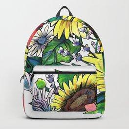 Floral Arrangement Backpack