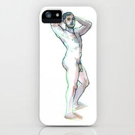 JON, Nude Male by Frank-Joseph iPhone Case