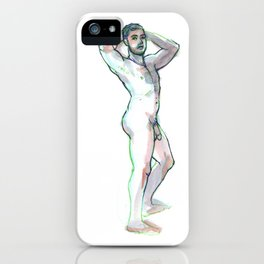 JON, Nude Male by Frank-Joseph iPhone Case