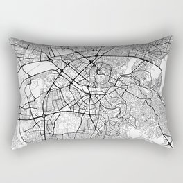 Ankara Map White Rectangular Pillow
